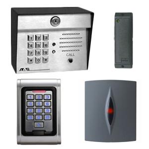 Integrated Card Readers / Keypads / Intercoms