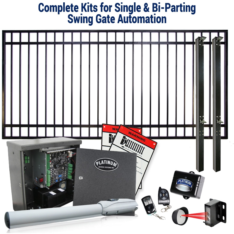 Magnetic Locks for Garden Gates, Pool Gates, Walk-Through