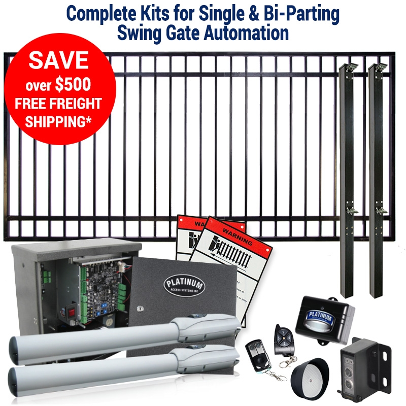 Swing Gate & Operator Kit