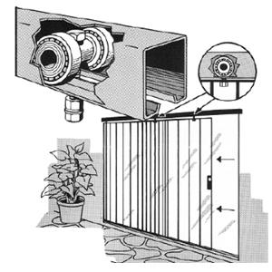 Overhead / Barn-Door Style Hardware