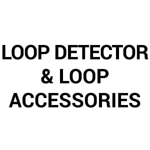 Loop Detector & Loop Accessories