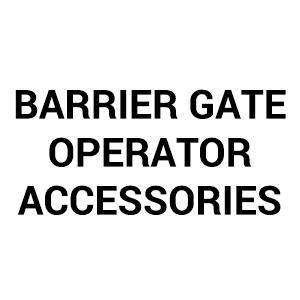 Barrier Gate Operator Accessories
