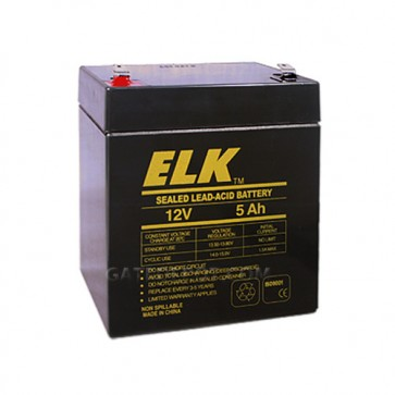 Elk 1250 Sealed Lead Acid Battery - 12V 5Ah