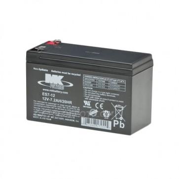 MK Battery ES7-12 Sealed Lead Acid Battery - 12V 7.2Ah