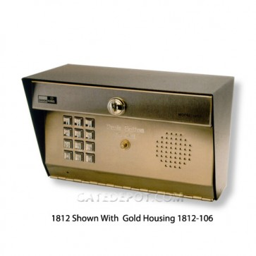 DoorKing 1812-106 Gold-Plated Housing