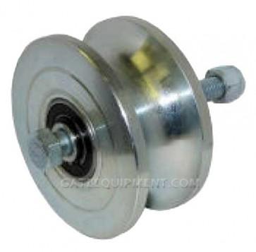 "Duragate PWRPTW Pipe Track Wheel  - 5"" Steel"