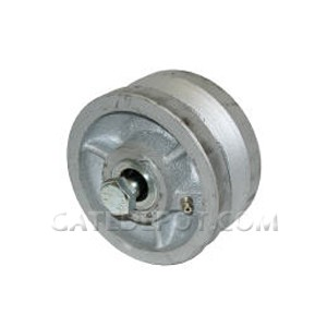 "Duragate Cast Iron V-Groove Wheel, 4"" Standard"