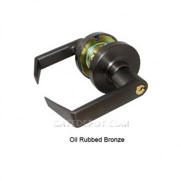 Schlage SCD80X10B Oil Rubbed Bronze Rhodes Lever Storeroom Lock