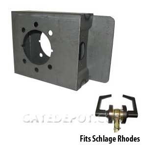 DuraGate K-BXRHO Lock Box for Schlage Rhodes Levers