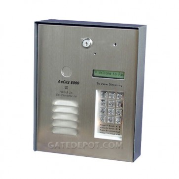 AeGIS 8250P Multi Tenant Dedicated Telephone Entry System, Surface Mount