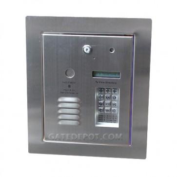 AeGIS 8250FFP Multi Tenant Dedicated Telephone Entry System, Flush Mount