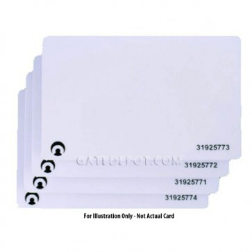 AAS-40-004 Touch Plate Access Cards