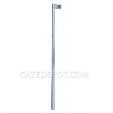 DuraGate DGT-BL Steel Barrier Gate Locking Post