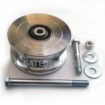 """DuraGate DGT-WHEEL-CF Pipe Track Wheel - 5"""" Steel"""