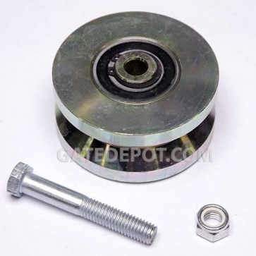 DuraGate DGT-WHEEL-V4 V-Groove Wheel - Hardened Steel