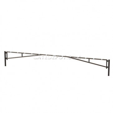 LiftMaster 14020-24 Manual Leaf Swing Barrier Gate Arm - Double 24'