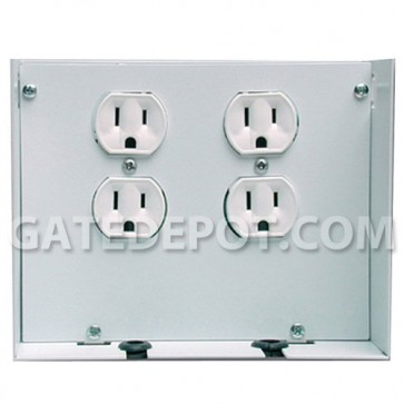 Linear H291 Two Duplex Outlet AC Power Accessory