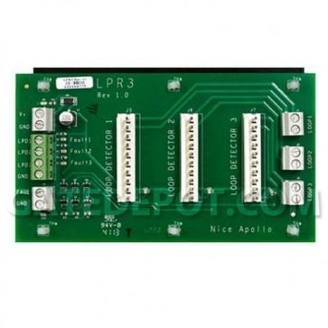 Apollo LPR3 Loop Detector Rack