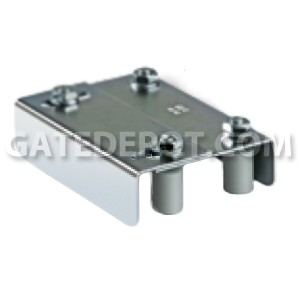 "DuraGates 255-220 Adjustable Guiding Plate - 1-1/4"" - 2-3/8"" Frame"