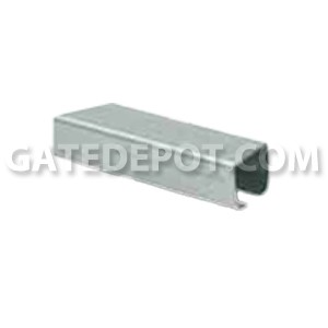 DuraGates CGS-345G Cantilever Track - Galvanized - Large - 20 Ft.