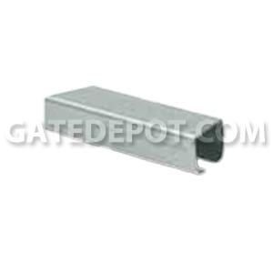 DuraGates CGS-245P Cantilever Track - Galvanized - Medium - 10 Ft.