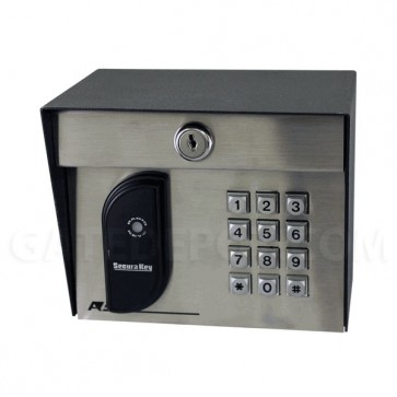 AAS 23-213KP Stand-Alone Secura Key Proximity Card Reader w/ Keypad