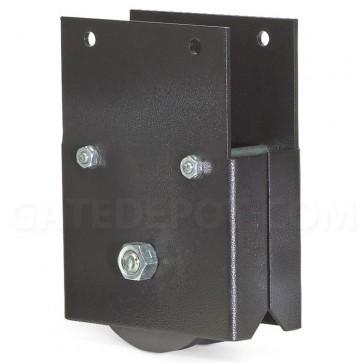 DoorKing 1201-005 4-inch UHMW Wheel Assembly w/Sealed Bearing