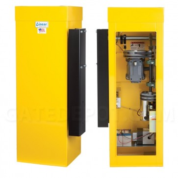 Linear OSCO BGU-D Barrier Gate Operator with Battery Backup