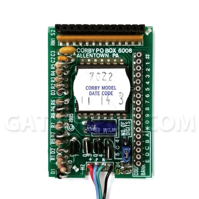 decoder board Corby 7000 series Weather Resistant Keypad With Light And Cover