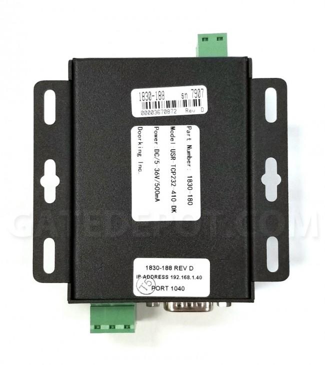DoorKing 1830-185 TCP/IP Converter Kit - Manual