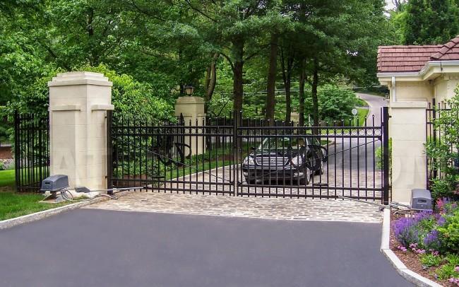 doorking 6300 1 2 hp swing gate operator rh gatedepot com