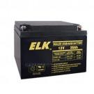 Elk 12260 Sealed Lead Acid Battery - 12V 26Ah