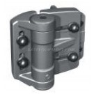 D&D Tru-Close Mini-Multi Adjustable Self-Closing Hinge