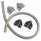 "Securitron TSB-CXL-G 36"" Power Transfer Door Cord with Gray End Caps"
