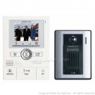 AiPhone JKS-1AED Pantilt Zoom Hands-Free 1 X 2 Color Video Set with Memory