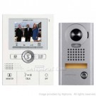 AiPhone JKS-1AEDV Pantilt Zoom Hands-Free 1 X 2 Color Video Set with Memory