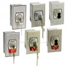 MMTC HBF & HBFS Series Key Switches - Single Gang Box