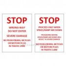 LiftMaster Warning Signs for Automated Spike Systems