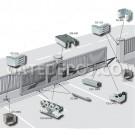 DuraGates CGS-250.8M Cantilever Sliding Gate Hardware - Small