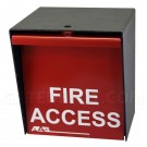 AAS 15-014 Fire Department Lock Box - Padlock Style