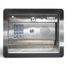 DoorKing 1504-096 Flush Mount Keypad w/ Intercom Substation