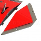 LiftMaster 12300E COBRA Surface Mount End Bevels - Red
