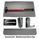 Lockey Panic Shield Kits w/ Detex V-40xEBxW Bar - Security