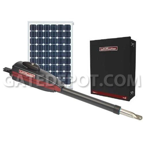 liftmaster la412 solar linear arm gate operator rh gatedepot com