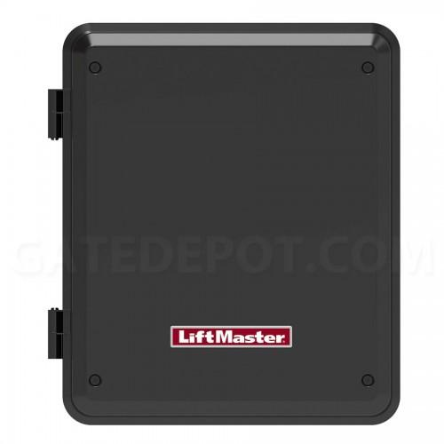 LiftMaster LA400 Linear Arm Gate Operator on chamberlin opener wiring diagram, wayne dalton opener wiring diagram, crusader opener wiring diagram, genie garage opener wiring diagram,