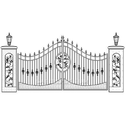 Duragate Elegant Granite & Olive Gate