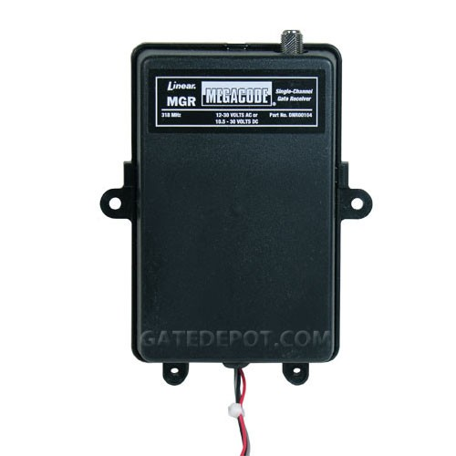 Linear MegaCode MGR 1 Channel Gate Receiver