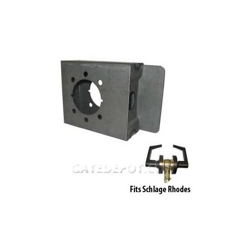 DuraGate K-BXRHO Lock Box for Schlage Rhodes Levers