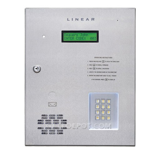 Linear AE-1000 Plus Telephone Entry System