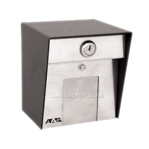 AAS 11-3500 Stand-Alone Touchplate Card Reader - Post Mount